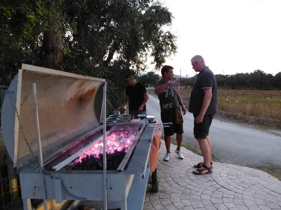 Arkadia Hotel: On eof the BBQ evenings