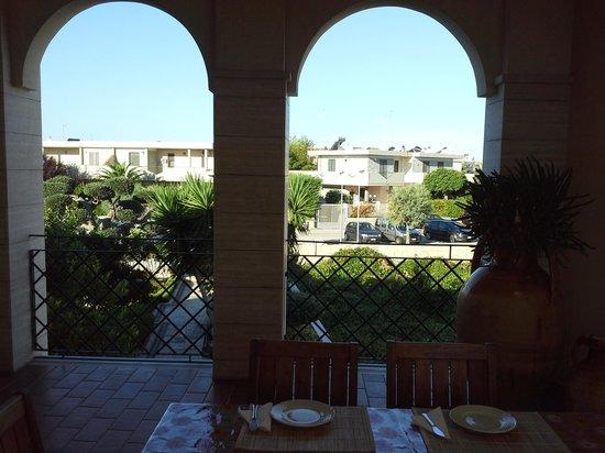 La Rosa Blu: sea views from the balcony