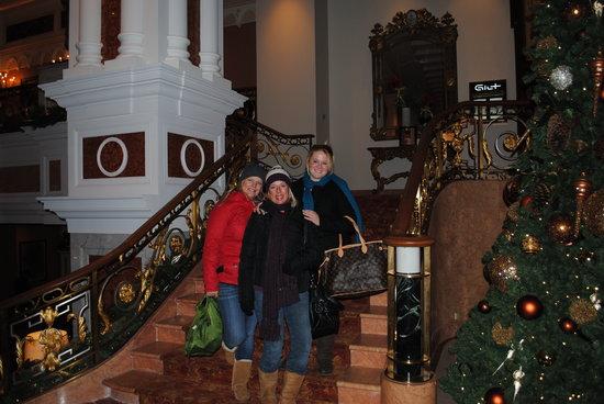 lotte new york palace christmas day ny palace lobby