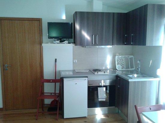 Aparthotel Oporto Sol : cocina