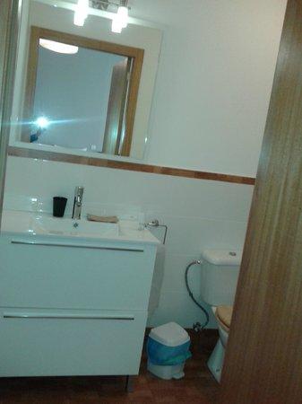 Aparthotel Oporto Sol : baño