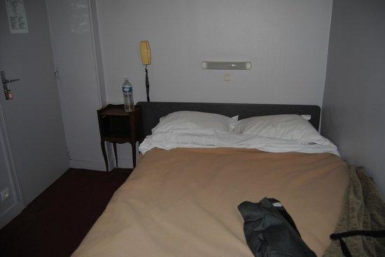 Hotel Exelmans : Verdadera habitación