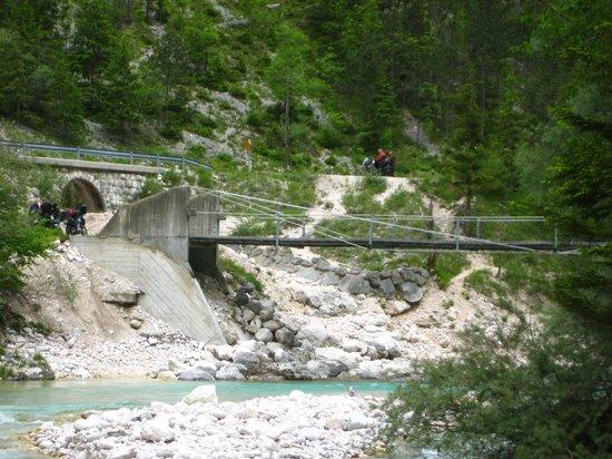 Hotel Sanje Ob Soci: The River