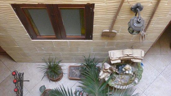 Tal-Bir Farmhouse Gozo : Looking dow from first floor