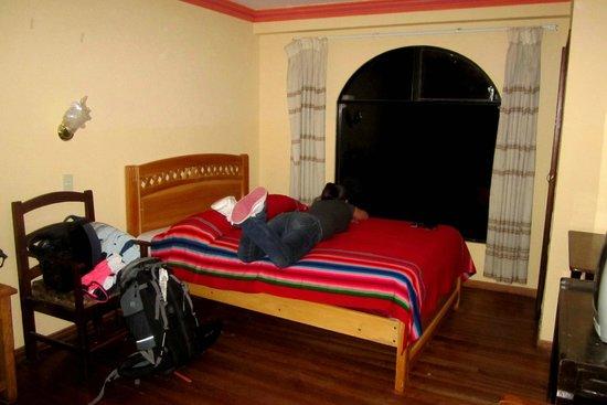 Hotel Mirador: our room