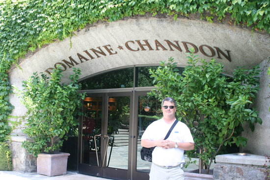The entrance to the Domaine Chandon