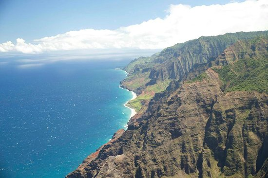 Captain Andy's Sailing Adventures: Napali Coast fromthe air