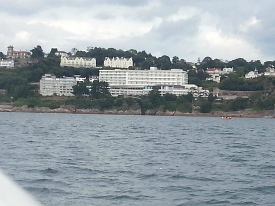 Ashley Court Hotel: view from ferry going back to torquay