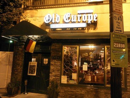 Step inside the Old Europe restaurant
