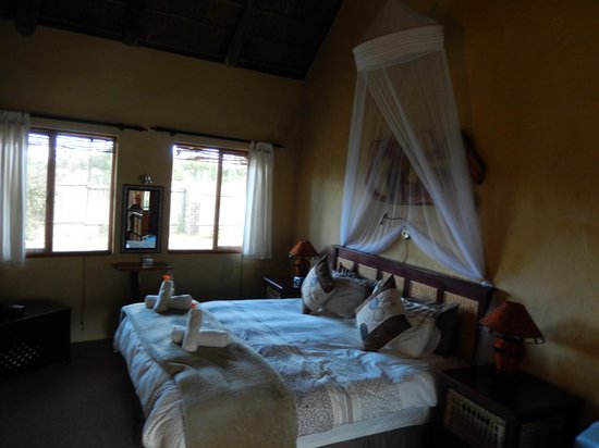 Elephants Footprint Lodge: Het bed