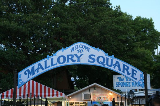 Albury Court Hotel in Key West: Ca. 20 Min. Fußweg zum Mallory Square