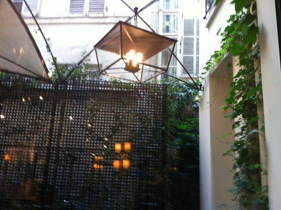 Hotel Recamier : patio