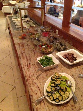 Wohlfühlhotel Ortnerhof: Salatbuffet