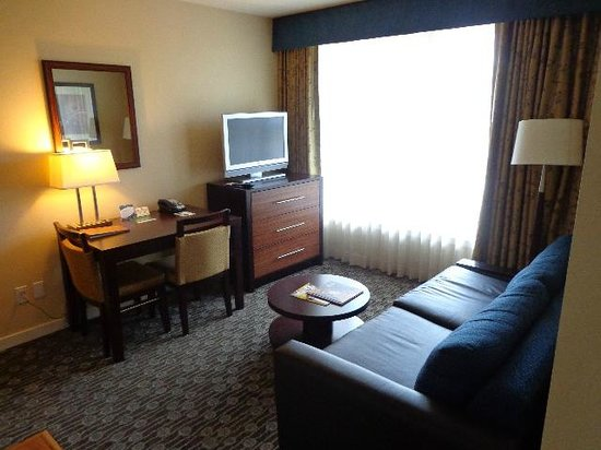 Homewood Suites by Hilton Seattle-Conv Ctr-Pike Street: Living room area
