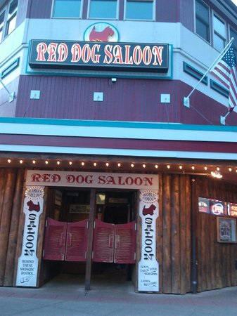 Red Dog Saloon: Entrance