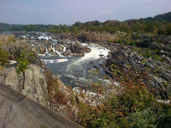 Great Falls Park: Great Falls From Virginia