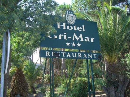 Hotel Gri-mar : ENTRADA