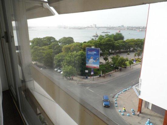New Africa Hotel: ocean view room@hotel corner