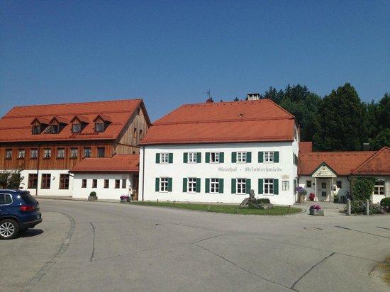 Der Landgasthof Reindlschmiede: außen 2