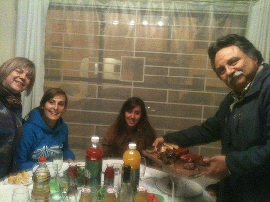 Hostal Magnolio: De asado !