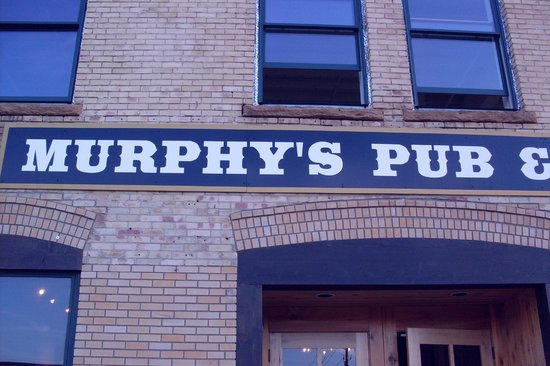 Murphy's Pub & Grill: So says the sign