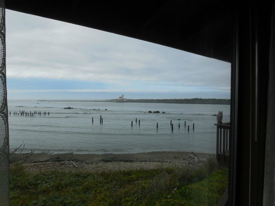 Lighthouse Bed and Breakfast: view from Sunset Room window
