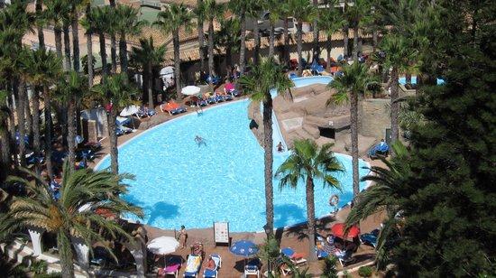 Playasol Spa Hotel: A view fom the balcony