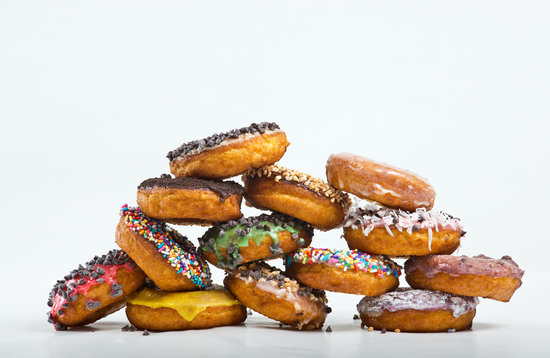 Fractured Prune Ocean : Hot Hand-Dipped Donuts