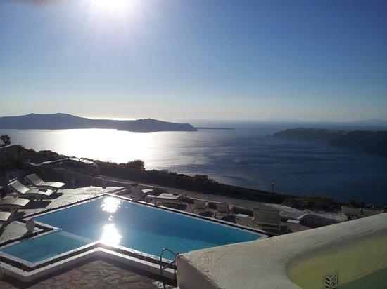 Santorini's Balcony: Foto desde mi habitacion
