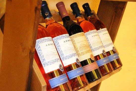Armenia Restaurant: wine collection