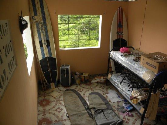 Casa Surfistas Nica: Dormatory area w/oceanview.