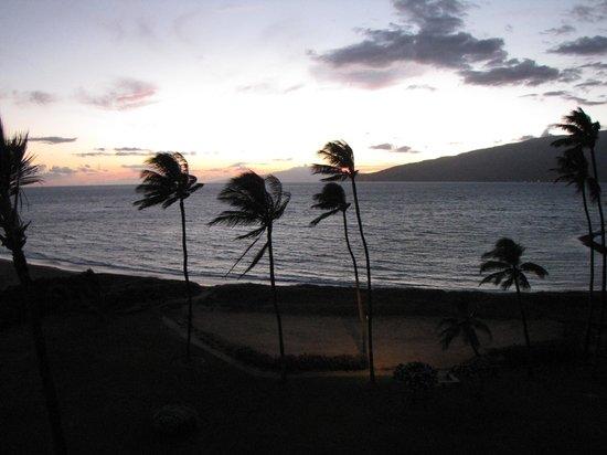 Koa Lagoon: sunset from the terrace