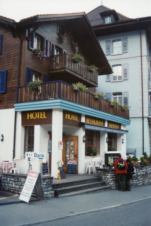 Hotel Restaurant Bahnhof: Front of Hotel