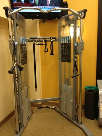 Hilton Garden Inn Washington DC / Bethesda: this is that machine I was describing in my review
