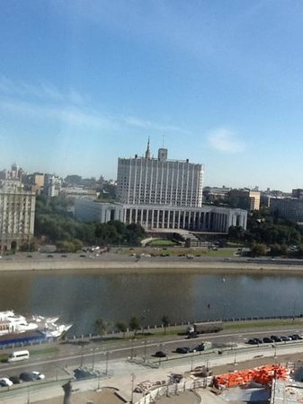 Radisson Royal Hotel Moscow: white house moscow - view from room