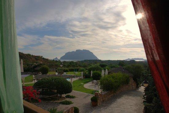 Hotel Ollastu Residence: Blick aus dem Frühstücksraum