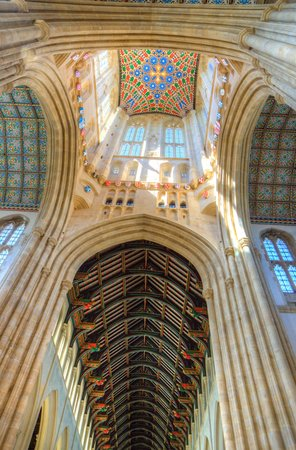 St. Edmundsbury Cathedral: interior of tower