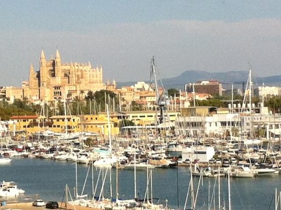 Hotel Palma Bellver Managed By Melia: view from balcony -room 606