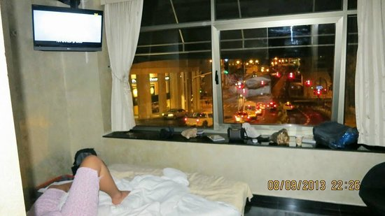 City Hotel Jerusalem : View from room