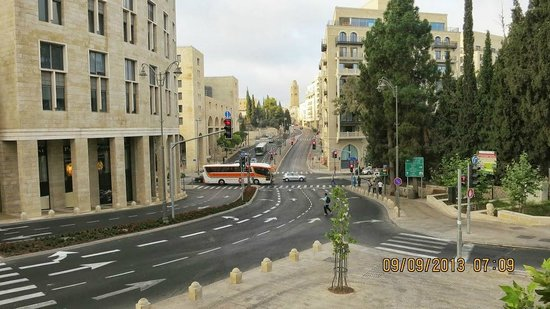 City Hotel Jerusalem: View from room