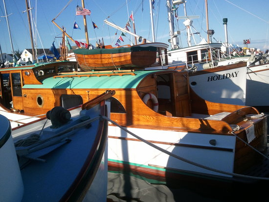 Huber's Inn Port Townsend: The 37th annual Wooden Boat Festival.