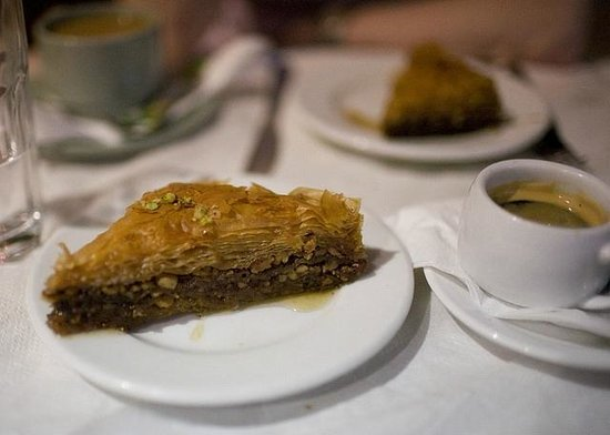 Eve's Garden: Tasty Traditional Greek Baklavas and greek coffee!!! wow!!!!