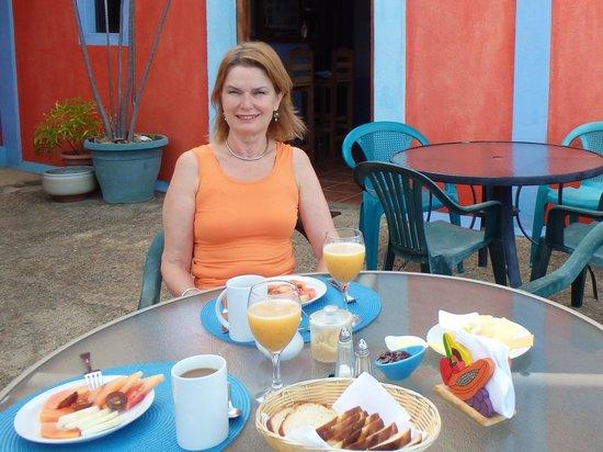 El Jardin Hotel: Very tasty breakfast