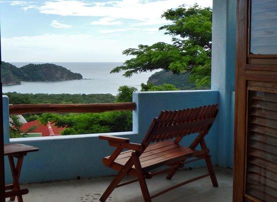 El Jardin Hotel: Ocean view from balcony