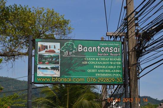 Baantonsai Garden Resort: Billedet taler vist for sig selv