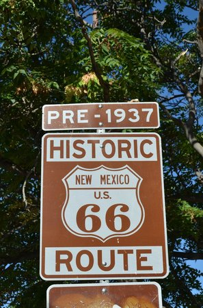U.S. Route 66: Road sign