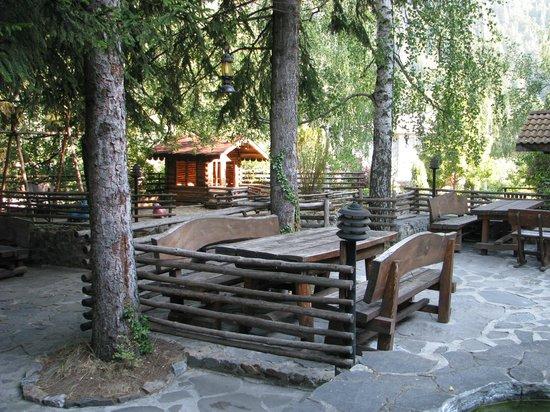 Family Hotel Smolena : In the yard