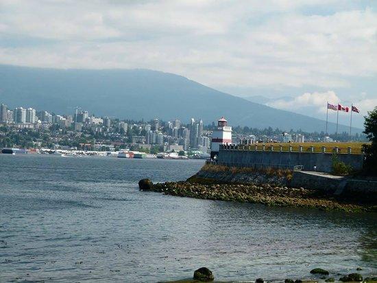 Brockton Point Lighthouse: Vancouver – Brockton Lighthouse auf Burrard Inland (c) Frank Koebsch (1)