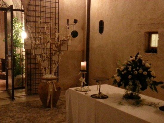 Convento di Santa Croce: il nostro tableau ad albero