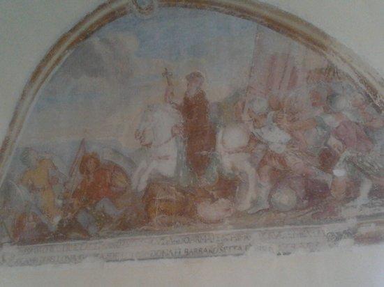 Convento di Santa Croce: stupendi affreschi francescani